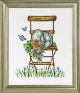 Chair with Flowers 92-8104