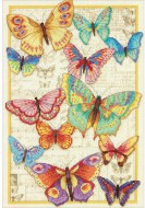 Dimensions Gold Collection Butterfly Beauty